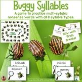 Reading Multisyllable Nonsense Words    Buggy Syllables