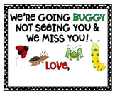 Buggy Without You Gift Tag