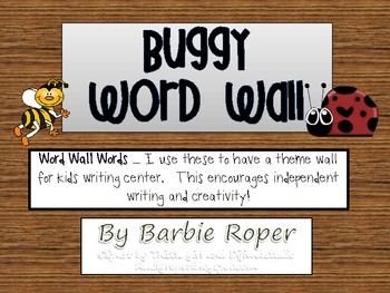 Buggy Word Wall