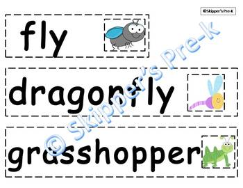 Buggy Words! Letter Matching