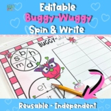 Buggy-Wuggy (An Independent Phonics Game)-Editable