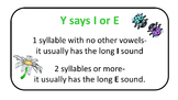 Buggy Y as Long I or E Word Sort