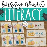 Bug and Insect Themed Literacy Center Activities