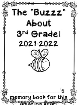 Buggy and Insect Themed End of the Year Memory Book *freebie*