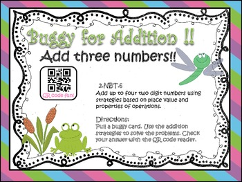 Buggy for Addition (Adding 3 two-digit Numbers)