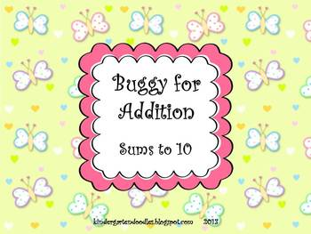 Buggy for Addition Math Set
