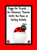 Buggy for Blends - An Oviparious Themed Write the Room or Word Sort