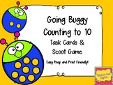Buggy for Counting to 10 Scoot or Task Cards