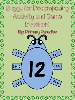 Addition: Buggy for Decomposing Activity and Game