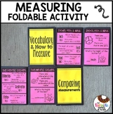 Second Grade Measuring Review Foldable with Metric and Customary
