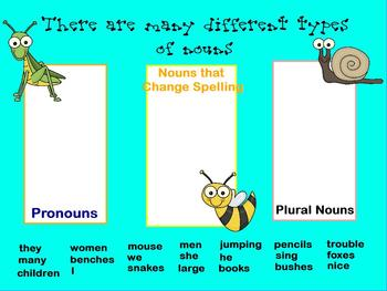 Buggy for Nouns Promethean Flipchart