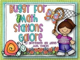 Buggy for Spring Math Stations Galore-12 Differentiated An