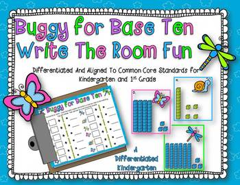 Buggy for Spring Time Base Ten Place Value Fun-Differentiated and Aligned