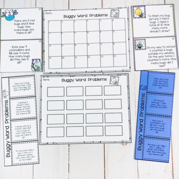 Word Problem Task Cards-Addition and Subtraction