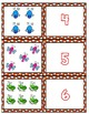 Bugs 1-10 Cards ~ 1:1 Correspondence, Subitize, Numeral Recognition