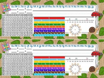 Bugs 1 3rd Grade Theme Desktag