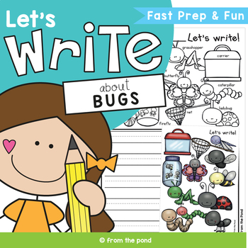 Bug Writing {Insects Themed Writing Prompts and Papers)