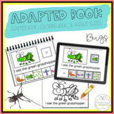 Bugs Adapted Book & Student Book for Early Childhood Special Ed