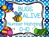Bugs Alive Number Matching Cards