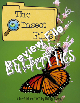 Bugs! An ELA Nonfiction Unit About Butterflies, Bees, and Ants