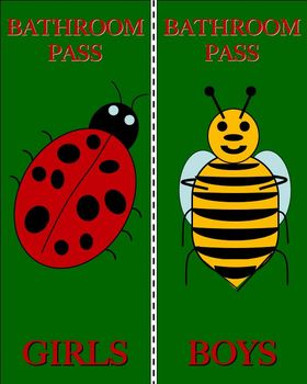 Bugs Bathroom Pass