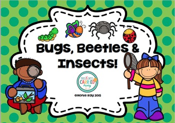 Bugs, Beetles & Insects! Unit Bundle!
