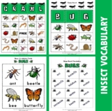 Bugs Bingo / Matching Activities and Games
