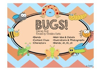 Bugs - Blends and Other Literacy Activities