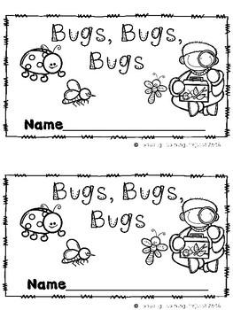 Bugs, Bugs, Bugs (A Sight Word Emergent Reader and Teacher Lap Book)