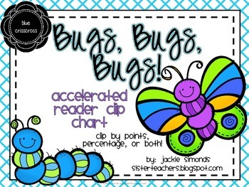 Bugs, Bugs, Bugs! Accelerated Reader Clip Chart **Blue Cri