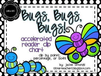 Bugs, Bugs, Bugs! Accelerated Reader Clip Chart **Polka Do