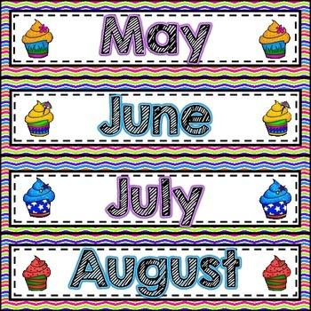 Bugs, Bugs, Bugs! Birthday Bulletin Board Pack *Punch Bowl Chevron Background*