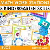 Kindergarten Math Centers ~ Bugs!