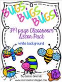 Bugs, Bugs, Bugs! Mega Decor Pack **White Background**
