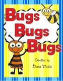 Bugs! Bugs! Bugs! Beginning of the Year Reading Activity Packet