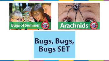 Bugs, Bugs, Bugs SET Gr. 1-2
