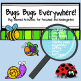 Bugs Bugs Everywhere Activities for Preschool and Kindergarten