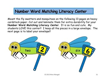 Bugs, Butterflies & Insects Literacy Unit - Incorporates Common Core Standards
