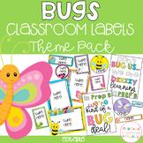 BUGS Editable Name Tags, Labels, Posters & Door Display
