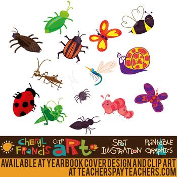 Bugs Clip Art