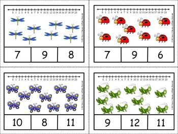 Bugs Clip Cards