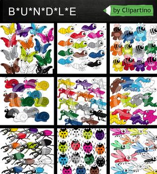 Bugs Clipart Bundle