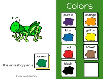 Bugs Color Books (Adapted Books)