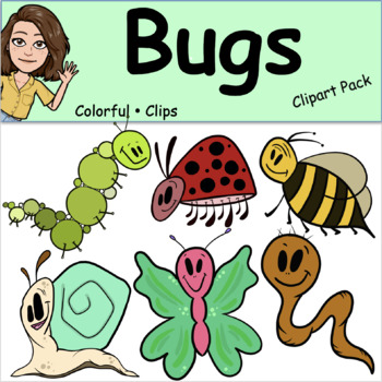 Bugs - Colorful Clips