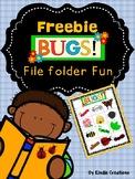 Bugs Corresponding File Folder Game