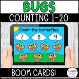Bugs Counting 1-20 BOOM Cards for Spring Distance Learning