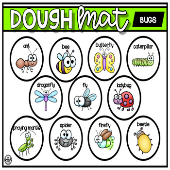 Bugs: Dough Mat
