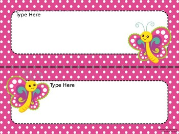 Bugs! EDITABLE Parent Letter, Announcement, Newsletter, Stationary, Name Tags