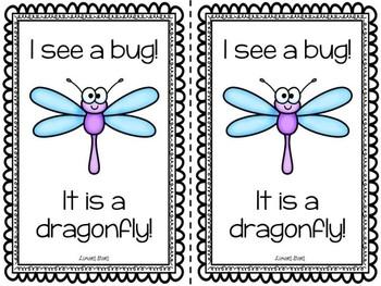 Bugs Emergent Reader & Centers