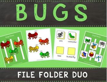Bugs File Folder Duo